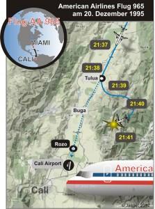 1995-KAP 14 AA B752 N651AA @ Cali area 1995small