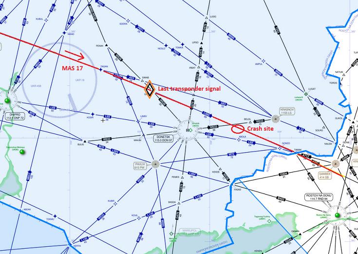 2014-07-17_9M-MRD_B772_MAS@Donetsk_area_MAP