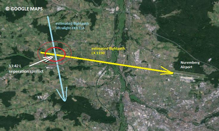 2014-03-30_RJ-100+FK9-ELA_near mis@Nuremberg area_MAP