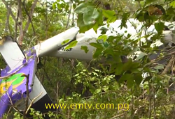2014-09-20 Hevilift DHC-6 Twin Otter crashed near Port Moresby – UPDATE