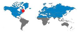 2014-09-27_C-GKNS_DHC6_AirLabrador@LaTabatiere_Worldmap