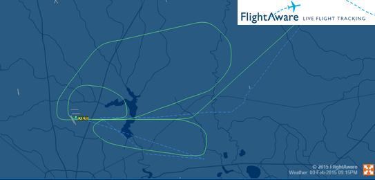 2015-02-09_N953UW_E190_AWE@KIAH_Flightaware