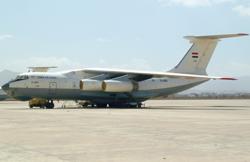 2015-05-04_IL76_YemenAF@Sanaa_Air-Raid_ACFT