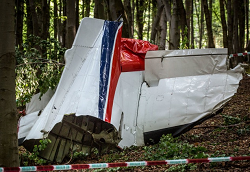 2015-08-20 Two LET-410 aircraft crashed after mid-air collision in Slovakia