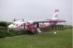 2015-08-28 First Flying DHC-6 Twin Otter off runway at Okinawa
