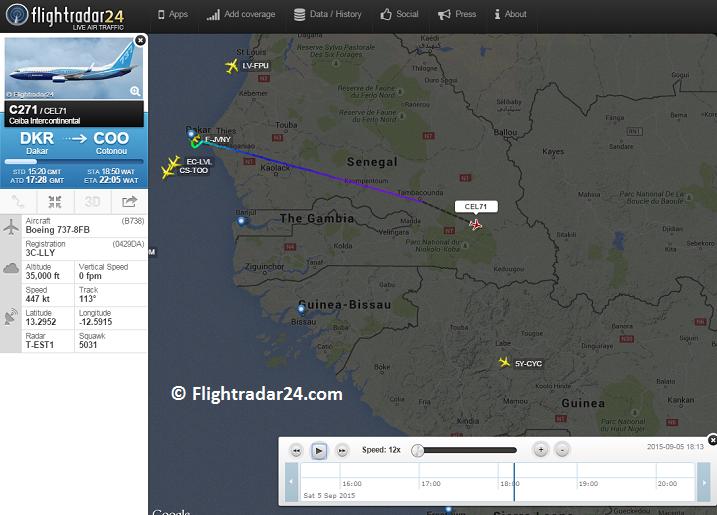 2015-09-05_3C-LLY_B738+HS125@Senegal airspace_FR24