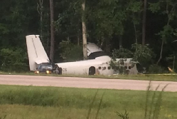 2015-09-06 Rampart Avn DHC6 Twin Otter in take-off accident at Franklin, NC, USA
