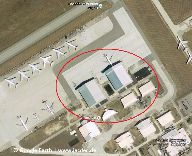 2015-09-17 Western Global MD-11F damaged in hangar fire at Oscoda