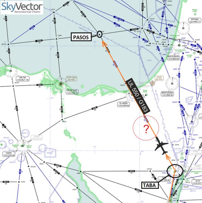 2015-10-31_EI-ETJ_A321_KGL@Sinai_SKYVECTOR-MAP