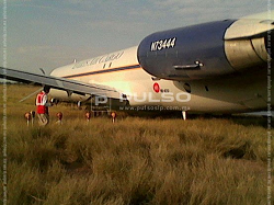 2015-11-02 Everts Air Cargo MD-82F ran off runway at San Luis Potosi