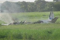2015-11-10 UN HS 748 Andover crashed after takeoff at Malakal South Sudan