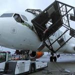 D-AIAF A321 structural damage