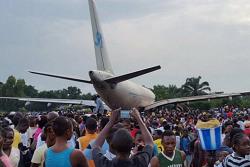 2015-12-24 Services Air Cargo A310F overran runway at Mbuji-Maji