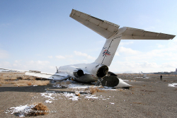 2016-01-28 Zagros Air MD-83 ran off runway at Mashhad, Iran