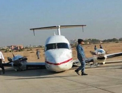 2016-03-18 ASSL Beechcraft 1900 take-off accident at Karachi