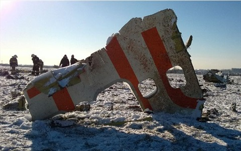 2016-03-19 FlyDubai Boeing 737-800 crashed at Rostov-on-Don