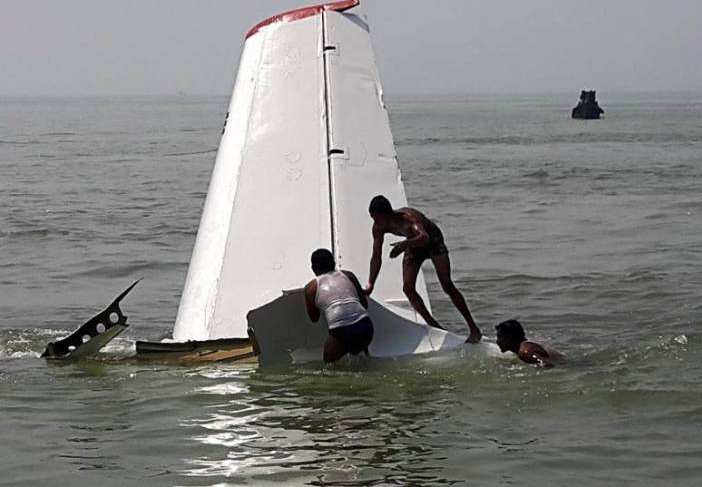 2016-03-09 True Aviation Antonov An-26 crashed into sea off Cox's Bazar