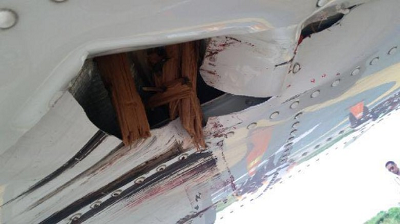 2016-04-06 Wings Air ATR-72 damaged on pushback at Kupang