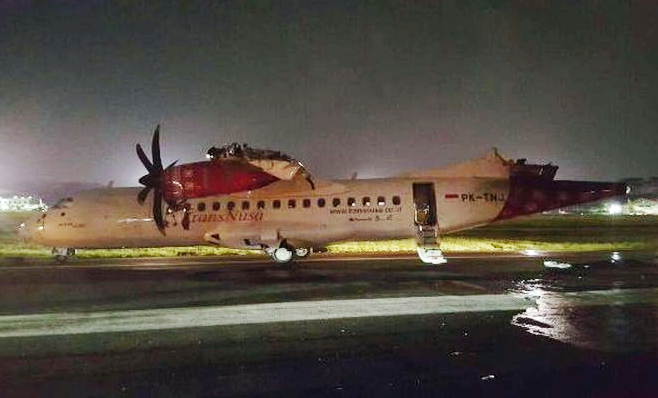 2016-04-04 Batik B737-800 and ATR-42 major ground collision at Jakarta UPDATE