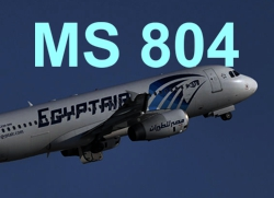 2016-05-19 EgyptAir Airbus A320 crashed in Mediterranean Sea