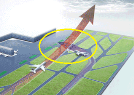 2016-10-11 China Eastern A320 and A330 in runway incursion at Shanghai