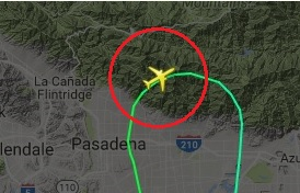 2016-12-16 EVA Air B777 flew astray and close to terrain east of Los Angeles