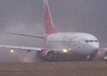 VIM Airlines Boeing 737-500 ran off runway at Riga Airport
