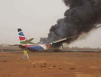2017-03-20 South Supreme Antonov An-26 crashed on landing at Wau