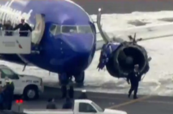 2018-04-19 Southwest B737-700 uncontained engine failure Philadelphia