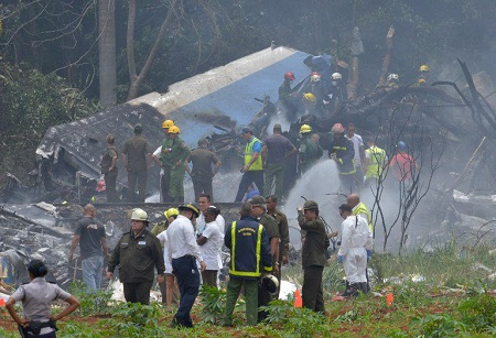 2018-05-18 Cubana | Global Air Boeing 737-200 crashed near Havana Airport